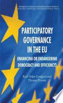 Participatory Governance In The Eu