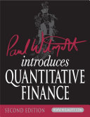 download ebook paul wilmott introduces quantitative finance pdf epub
