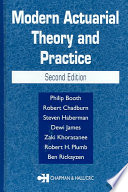 Modern Actuarial Theory and Practice  Second Edition