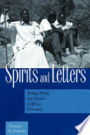 Spirits And Letters