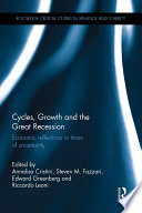 Cycles Growth And The Great Recession book