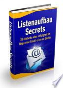Listenaufbau Secrets