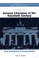 German Literature of the Twentieth Century