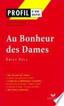 Profil   Zola  Emile    Au Bonheur des Dames