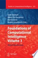 illustration Foundations of Computational Intelligence Volume 3, Global Optimization