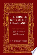 The Printed Book Of The Renaissance