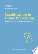 Qualification in Crime Prevention