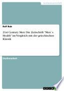 """21st Century Men: Die Zeitschrift """"Men ́s Health"""" im Vergleich mit der griechischen Klassik"""