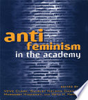 Anti feminism in the Academy