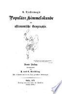 Populäre Himmelskunde und astronomische Geographie0