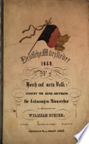 Deutsche Märzlieder 1848