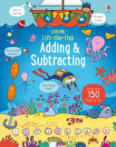 Lift The Flap Adding And Subtracting : math skills, this book is perfect for parents...