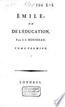 Emile  ou  De l education