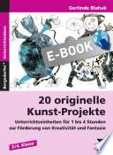 20 originelle Kunst Projekte