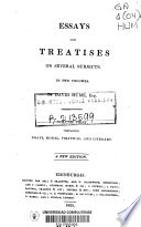 Essays and Treatises on Several Subjects Book PDF