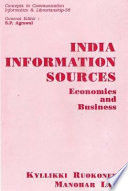india information sources economics and business