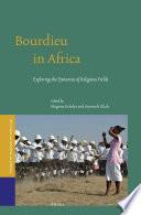 Bourdieu in Africa