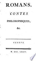 Romans  contes philosophiques   c