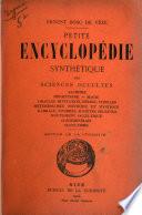 Petite encyclop  die synth  tique des sciences occultes