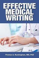 Effective Medical Writing