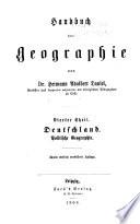 Handbuch der geographie