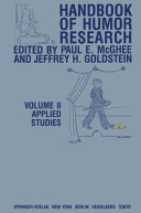 Handbook of Humor Research: Applied studies