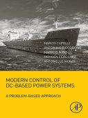 download ebook modern control of dc-based power systems pdf epub