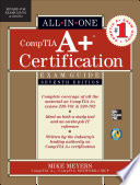 Comptia A Certification All In One Exam Guide Seventh Edition Exams 220 701 220 702