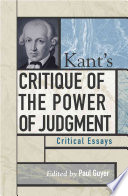 Kant s Critique of the Power of Judgment