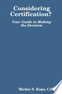 Considering Certification Your Guide To Making The Decision