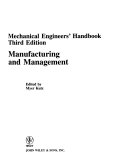 Mechanical Engineers  Handbook  Manufacturing and Management