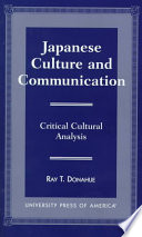 Japanese Culture and Communication