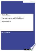 Psychotherapie bei M. Parkinson