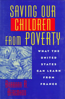 Saving Our Children From Poverty