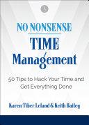 No Nonsense: Time Management