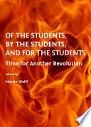 Of the Students  By the Students  and For the Students