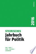 Steirisches Jahrbuch für Politik 2016
