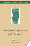 New Critical Essays on Kurt Vonnegut
