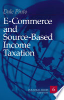 E commerce and Source based Income Taxation