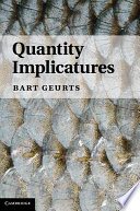 Quantity Implicatures