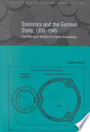 Book Statistics and the German State  1900 1945