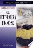 Dizionario della letteratura francese