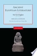 Ancient Egyptian Literature book