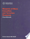 Weapons of Mass Casualties and Terrorism Response Handbook