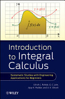 Introduction to Integral Calculus Book