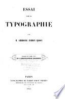 Essai sur la typographie