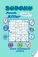 Killer Sudoku Puzzle  Volume 2