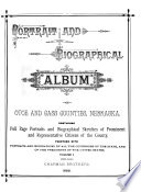 Portrait and Biographical Album of Otoe and Cass Counties, Nebraska