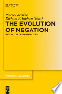 The Evolution of Negation