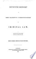 Report from His Majesty s Commissioners on Criminal Law Book PDF